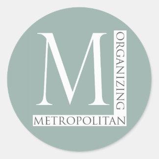 Metropolitan Organizing Sticker