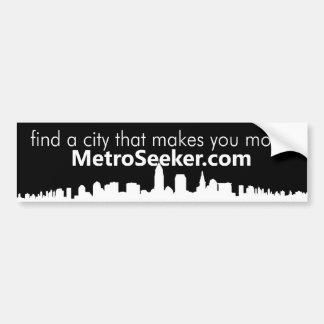 MetroSeeker.com : trouvez une ville qui vous incit Autocollant De Voiture