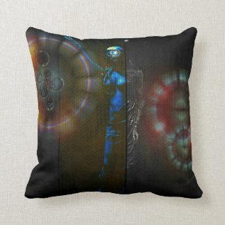 Metrotopia Throw Pillow