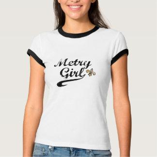 Metry Girl New Orleans Ringer T-Shirt