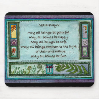 Metta Prayer Mouse Pad
