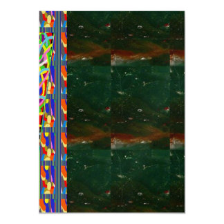 "Mettalic Crystal Invitation: OPTION 7 style PAPERS 4.5"" X 6.25"" Invitation Card"
