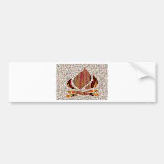 METTEZ LE FEU au symbole de flamme du festival Autocollant Pour Voiture