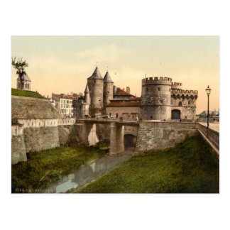 Metz - German Gate Postcard