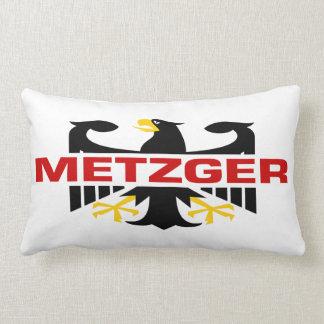 Metzger Surname Lumbar Pillow