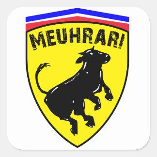 Meuhrari Square Sticker