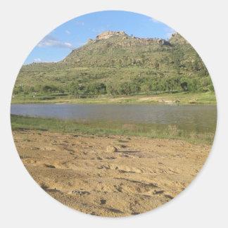 Meulspruit Dam 1 Classic Round Sticker