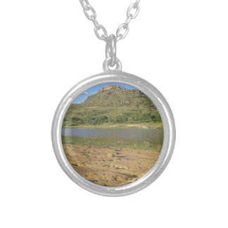 Meulspruit Dam 1 Silver Plated Necklace