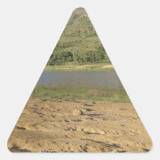 Meulspruit Dam 1 Triangle Sticker