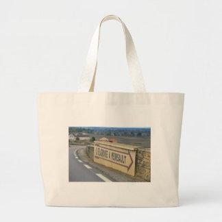 meursault côte-d'or France Large Tote Bag
