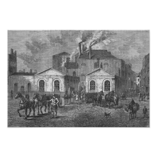 Meux's Brewery, 1830 Poster