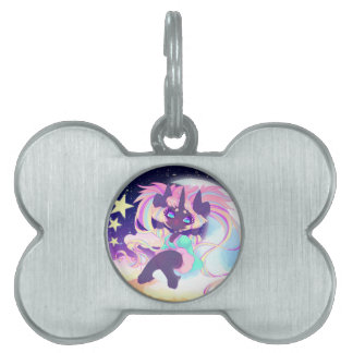Mewnico Beelzepop Pet Name Tags
