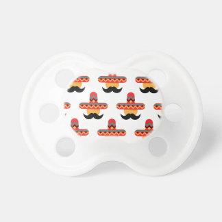 Mexcan moustache pacifier