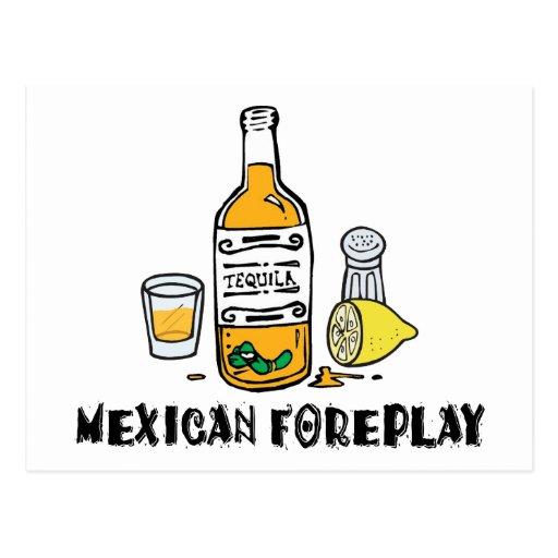 Mexicain drôle carte postale