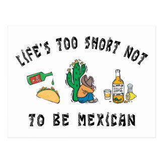 Mexicain très drôle cartes postales