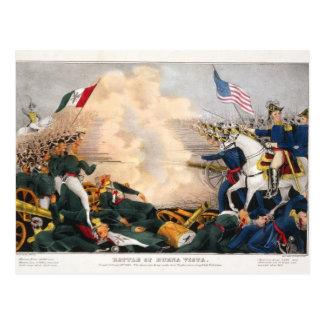 Mexican American War Battle of Buena Vista 1847 Postcard