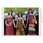Mexican Angels by Heather Galler Card