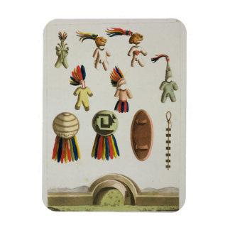 Mexican Arms (colour litho) Rectangular Photo Magnet