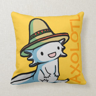 Mexican Axolotl Pillow