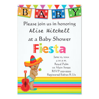 Mexican Baby Shower Invitation
