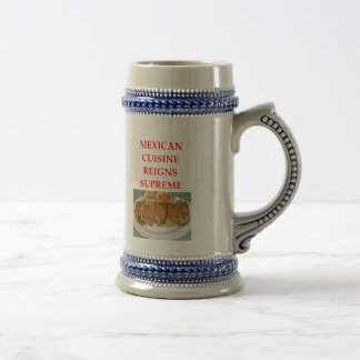 MEXICAN BEER STEIN