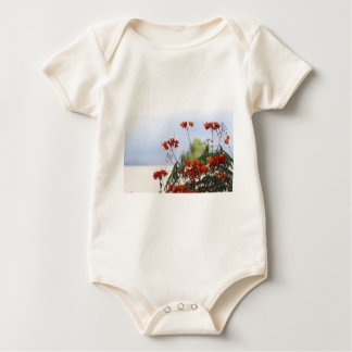 Mexican Bird of Paradise Baby Bodysuit