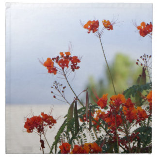 Mexican Bird of Paradise Printed Napkins
