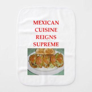 MEXICAN BURP CLOTH