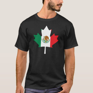 Mexican Canadian Flag T-Shirt
