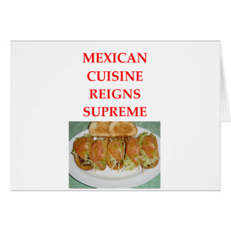 MEXICAN CARD