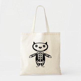 Mexican cat skeleton bag