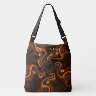 Mexican Chocolate Swirl Crossbody Bag