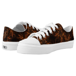 Mexican Chocolate Swirl Low-Top Sneakers