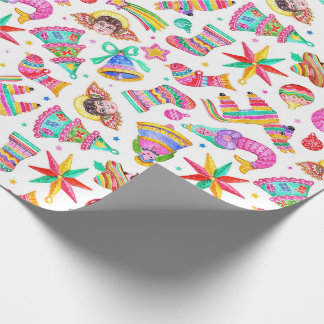 Mexican Christmas wrapping paper
