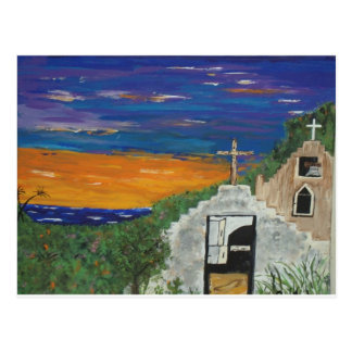Mexican church on the Pacific Postcard