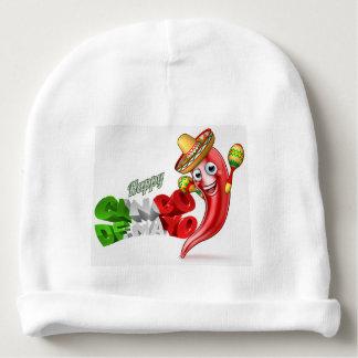 Mexican Cinco De Mayo Chilli Pepper Design Baby Beanie