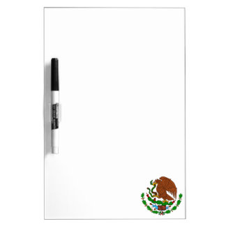 Mexican Coat of arms Dry Erase Board