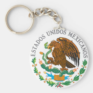 Mexican Coat of Arms Keychain
