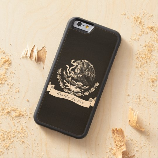 Mexican coat of arms maple iPhone 6 bumper
