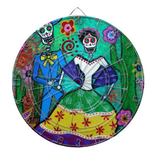 MEXICAN COUPLE DANCING DARTBOARD