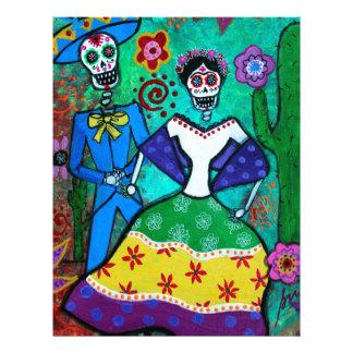 MEXICAN COUPLE DANCING LETTERHEAD