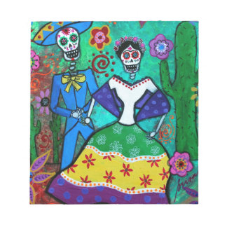 MEXICAN COUPLE DANCING NOTEPAD