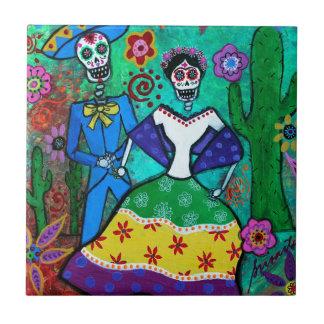 MEXICAN COUPLE DANCING TILES