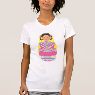 Mexican Dancer Matryoshka Women's T-Shirt