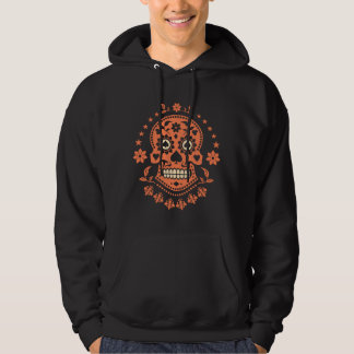 Mexican Day of the Dead Sugar Skull Hoodies