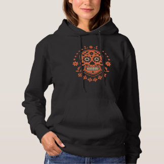 Mexican Day of the Dead Sugar Skull Hoody