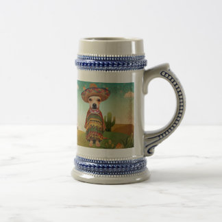 Mexican dog ,chihuahua beer stein