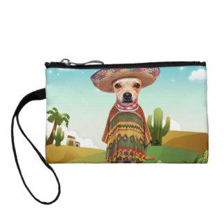 Mexican dog ,chihuahua coin purse