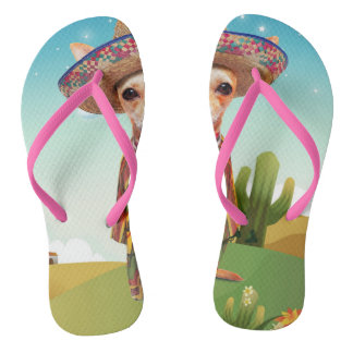 Mexican dog ,chihuahua flip flops