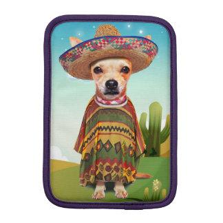 Mexican dog ,chihuahua iPad mini sleeve